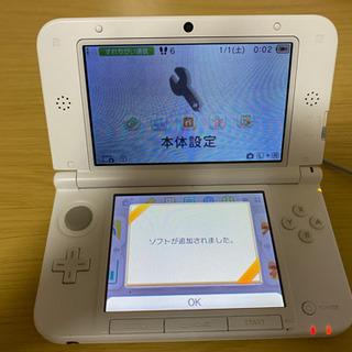 【3DSLL ホワイト 本体⭐️美品⭐️】+充電器