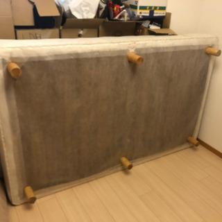 【セミダブルベッド】タダ!!!譲ります!!!!! - 家具