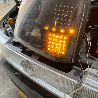MCワゴンR RR ヘッドライト − 青森県