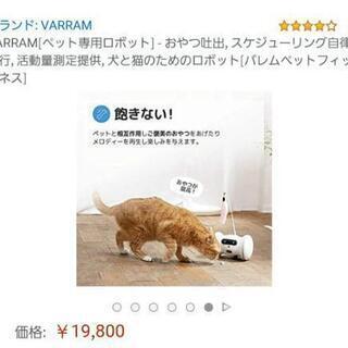 ペット専用 ロボット おもちゃ 新品 未使用 - 家電