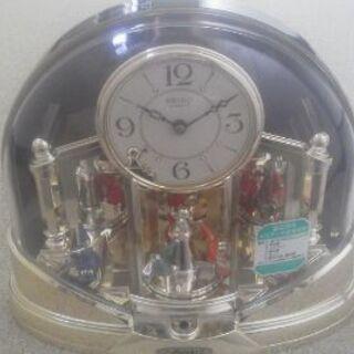 SEIKO セイコー 置時計 可愛い飾り人形が回転します。
