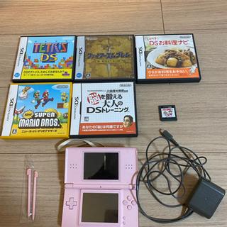 Nintendo DS Lite(ピンク)+ソフト6本 まとめ売り