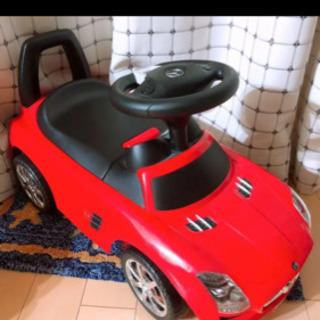 メルセデス ベンツ おもちゃレッド 足けり乗用 押し車 子供用乗り物