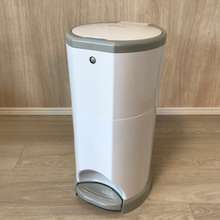 【取引中】日本育児 おむつポット | おむつ処理・ゴミ箱