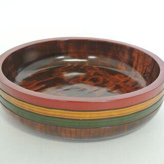 茶道具 讃岐漆器 独楽塗 菓子器 後藤塗 盛鉢 丸盆