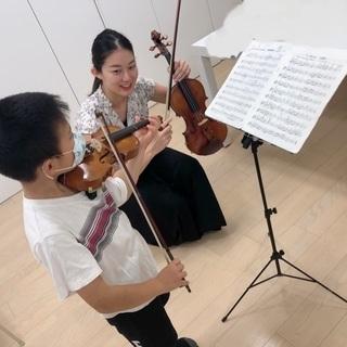 ♪バイオリン教室 生徒募集中