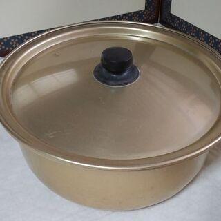 ◆【鍋】②  《 大きい鍋 》   ●直径/(内側)33c…