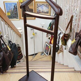 ★【アンティーク家具】英国製 ハンガーポール ジャケット用…