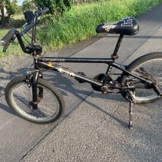 BMX 自転車 本物 格安 ブラック 20インチ