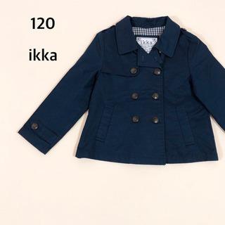 120 ikka トレンチコート