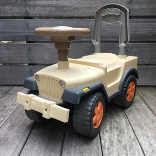 子ども用 足蹴りタイプ車 四輪