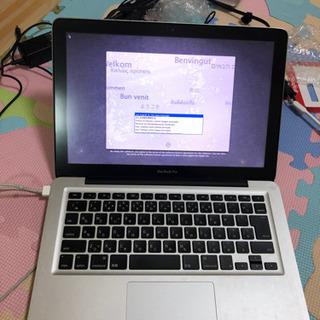 macbook pro i7 -2.9GHz 8GB (2012)ジャンクの画像