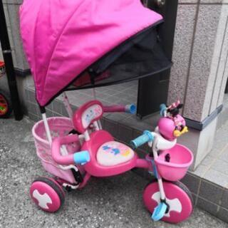 ミニーちゃんの三輪車 ディズニー