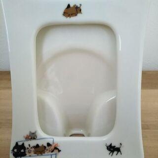 シンジ カトウ 猫の陶器製写真立て