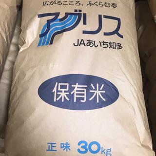 【限定2袋】令和2年度愛知県産コシヒカリ 正味30kg