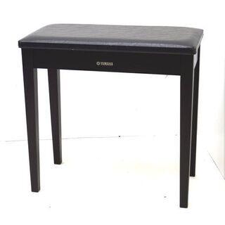 ④  ヤマハ ピアノ椅子 ダークブラウン 高さ固定式 60×30...