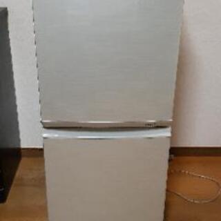 取り引き決まりました SHARP 冷蔵庫 137L 201…