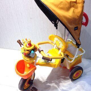 ■2569■プーさん ポップンカーゴ三輪車 アイデス 乗用玩具 ...