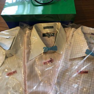 メンズワイシャツ長袖 2点セット ポールスミス タケオキクチ