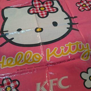 【値引き】キティちゃん 未使用 敷物☆ak0043
