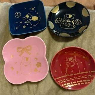 ニャンコ先生 小皿4種セット