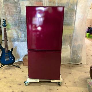 AQUA アクア ノンフロン 冷凍冷蔵庫 AQR-16E 2016年製