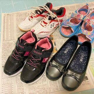 ★商談検討中・22㎝用の女の子靴・美品~USED品を4足取り揃えております★の画像