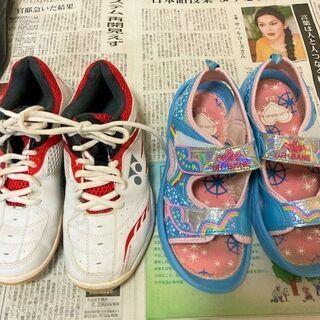 ★商談検討中・22㎝用の女の子靴・美品~USED品を4足取り揃えております★ − 山口県