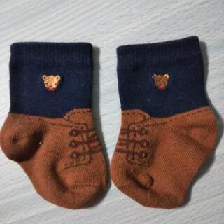 新品✨未使用✨familiarの新生児靴下