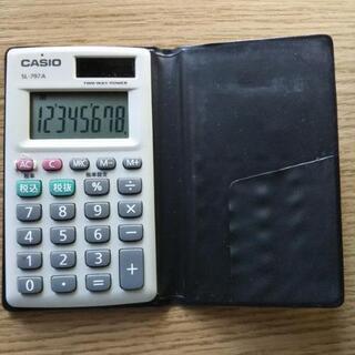 CASIO SL ‐797A 電卓年代物 ポケットサイズ