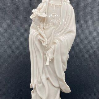 女神に祈ってみませんか? 女神像 【中古美品・陶器製】