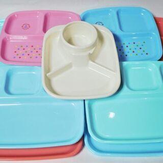 プラスチック 食器 トレー プレート 9点