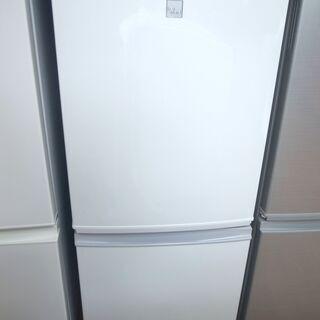 【学割/配達サービス】シャープ 137L冷蔵庫 SJ-14E3 ...