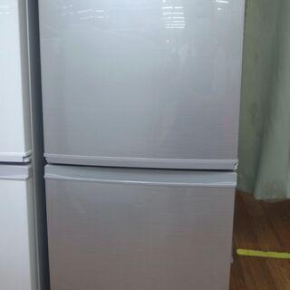 【学割/配達サービス】シャープ 137L冷蔵庫 SJ-D14C-...