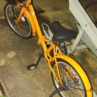 折りたたみ自転車の画像