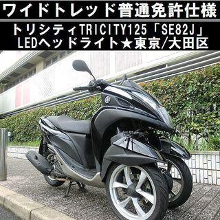 ★ワイドトレッド普通免許仕様「SE82J」トリシティ/LE…