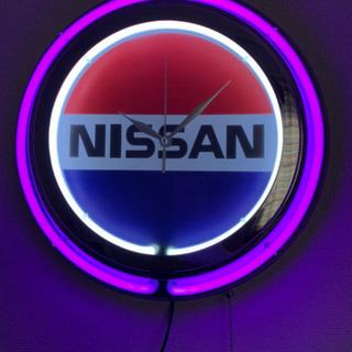 【ネット決済・配送可】NISSAN 掛け時計