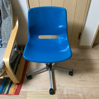 IKEA SNILLE イケア スニレ 回転チェア ターコイズブルー