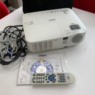 【値下げ】NECプロジェクター!ホームシアターに😎