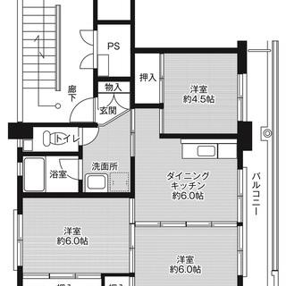◆敷金・礼金が無料!◆ビレッジハウス豊浜2号棟 (506号室)