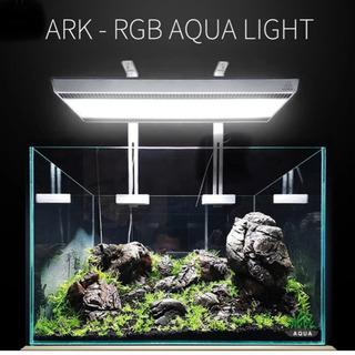 水草育成用照明 新型RGB LEDライト ブラック アーム付 発送可能