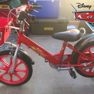 【美品】Disney カーズ 子供用自転車 16インチ