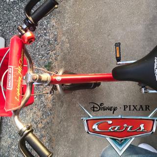 【美品】Disney カーズ 子供用自転車 16インチ - 自転車