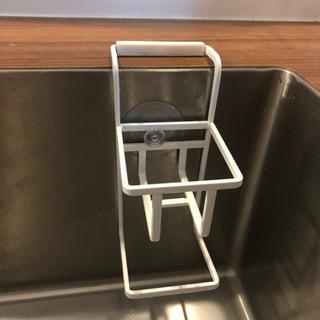 洗剤用スポンジラック・石鹸受けセット
