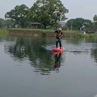 熊本で一緒にSUP(スタンドアップパドル)する人を募集中!!主に江津湖たまに天草 体験スクールじゃないけど最低限は教えれますよ。 - スポーツ