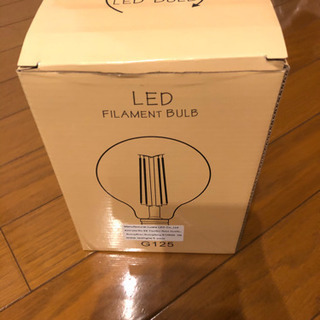 LED電球 フィラメント4w
