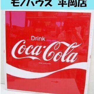希少 CocaCola/コカコーラ アクリルボード 正方形 看板...