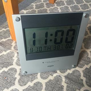 CASIO デジタル時計の画像