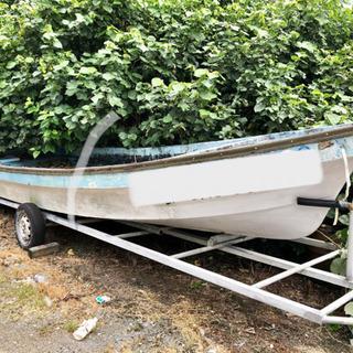 バラ売り致します‼️和船、ボート 19フィート 船外機付き 格安...