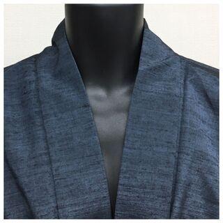 美品 上質 正絹 羽織 紬 色無地 大サイズ 裄72 身丈90...